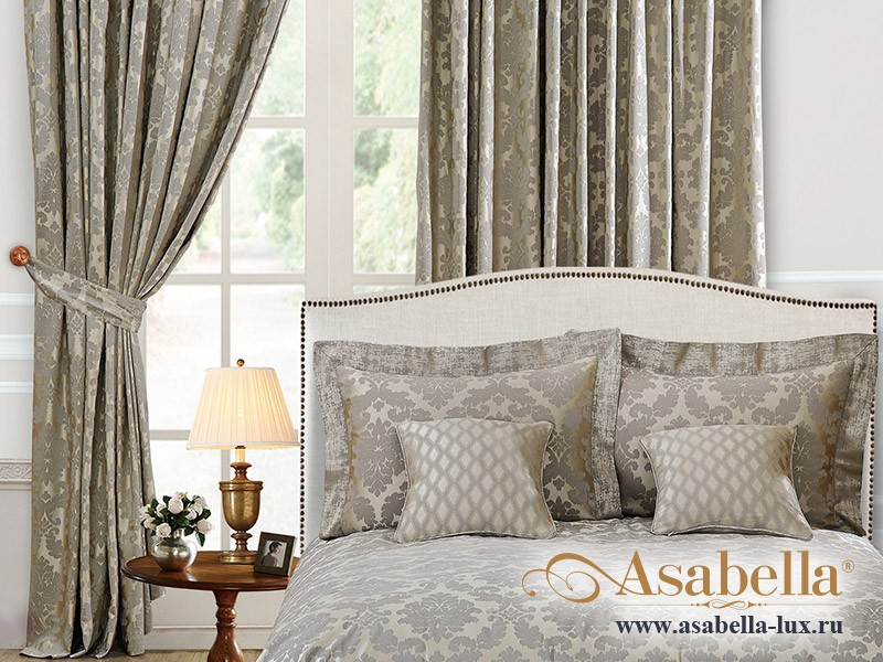 Шторы Asabella 50S (2 полотна размером 270х275 см)