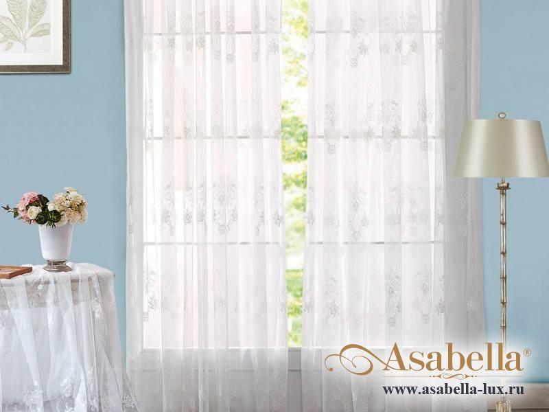 Тюль Asabella A02 (2 полотна размером 270х275 см)