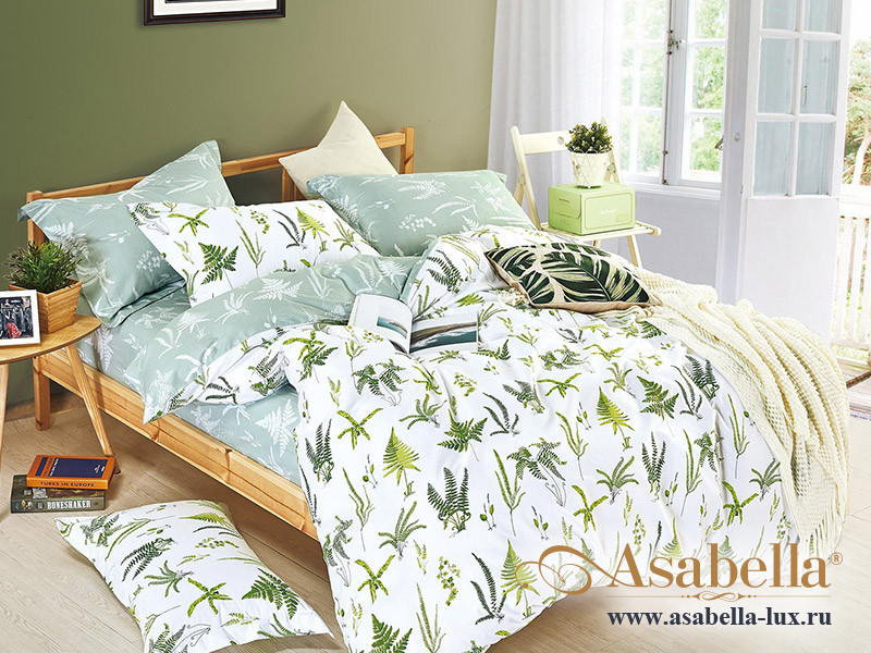 Комплект постельного белья Asabella 1009 (размер евро-плюс)