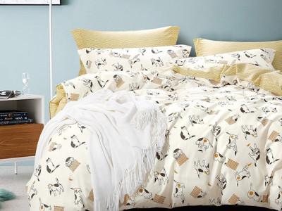 Комплект постельного белья Asabella 1010 (размер евро)