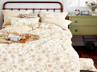 Комплект постельного белья Asabella 1013 (размер семейный)