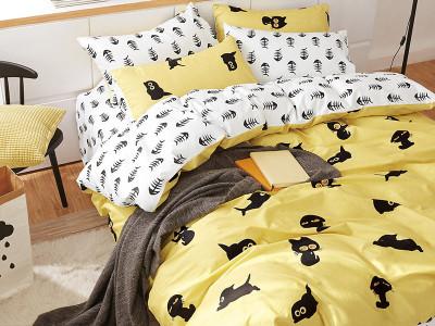 Комплект постельного белья Asabella 1017-4XS (размер 1,5-спальный)