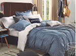 Комплект постельного белья Asabella 1023/180 на резинке (размер евро)