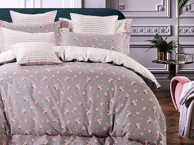Комплект постельного белья Asabella 1075/160 на резинке (размер евро)