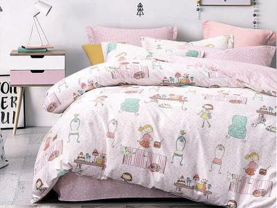 Комплект постельного белья Asabella 1091-4S (размер 1,5-спальный)