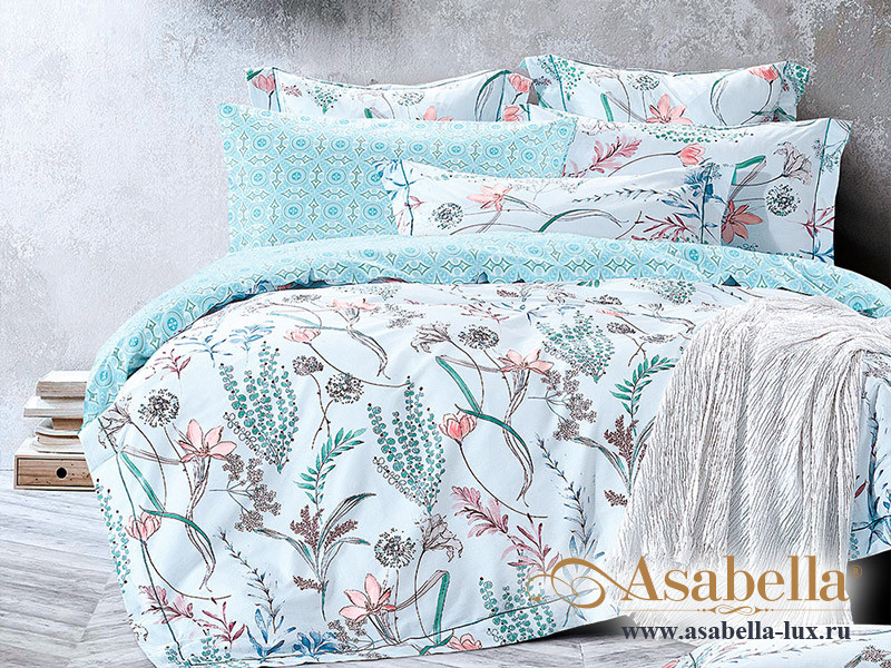 Комплект постельного белья Asabella 1099 (размер евро)