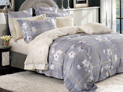 Комплект постельного белья Asabella 1118/160 на резинке (размер евро)