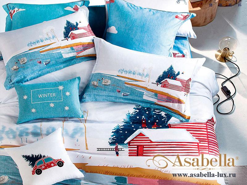 Комплект постельного белья Asabella 1186 (размер семейный)