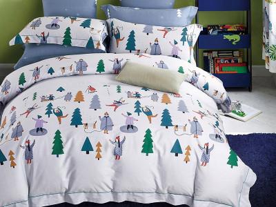 Комплект постельного белья Asabella 1202-4XS (размер 1,5-спальный)