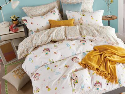 Комплект постельного белья Asabella 1206-4XS (размер 1,5-спальный)