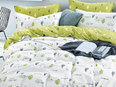 Комплект постельного белья Asabella 1208-4XS (размер 1,5-спальный)