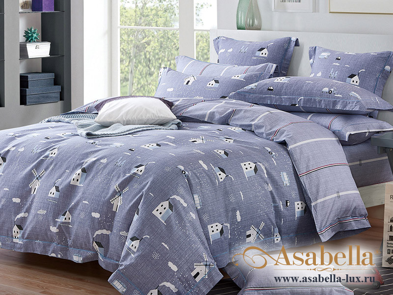Комплект постельного белья Asabella 1210 (размер евро)