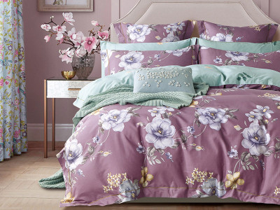 Комплект постельного белья Asabella 1213 (размер евро-плюс)
