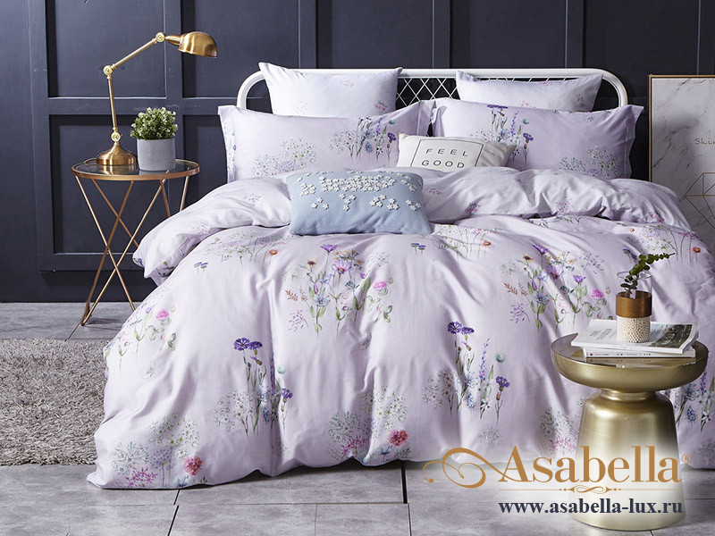 Комплект постельного белья Asabella 1214 (размер евро)