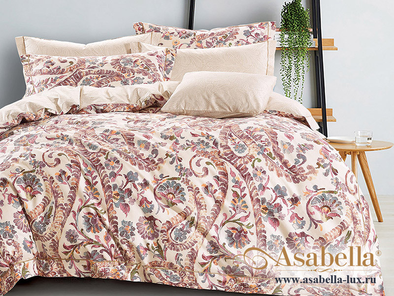 Комплект постельного белья Asabella 1217 (размер евро-плюс)