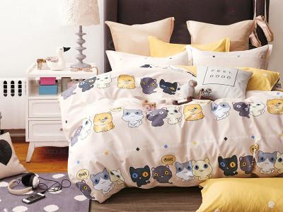 Комплект постельного белья Asabella 1226-4XS (размер 1,5-спальный)