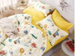 Комплект постельного белья Asabella 1228-4S (размер 1,5-спальный)