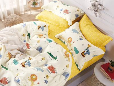 Комплект постельного белья Asabella 1228-4XS (размер 1,5-спальный)