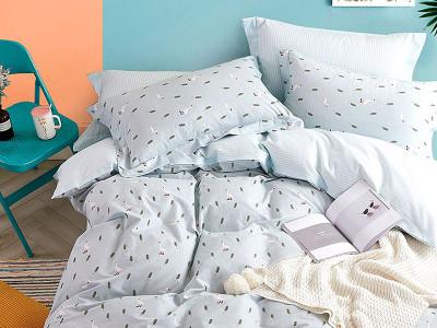 Комплект постельного белья Asabella 1240/160 на резинке (размер евро)