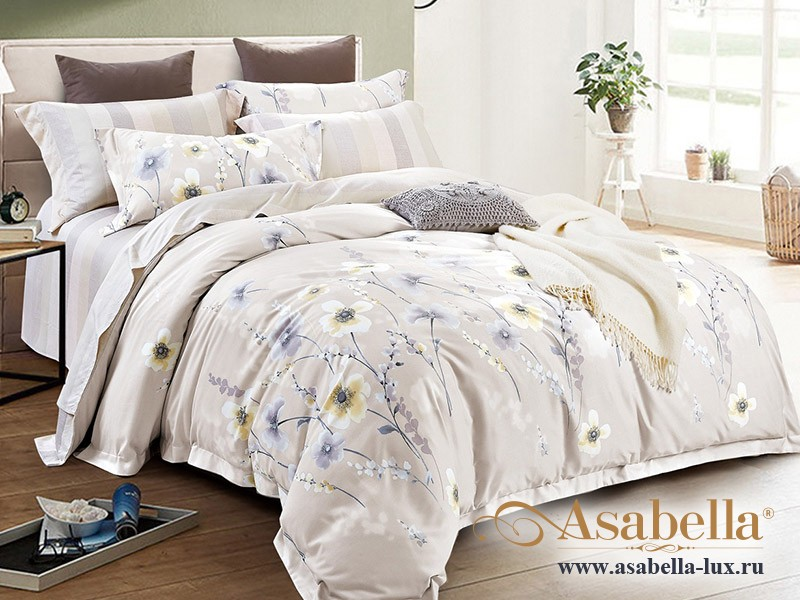 Комплект постельного белья Asabella 128 (размер евро)