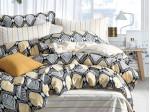 Комплект постельного белья Asabella 1289 (размер евро-плюс)