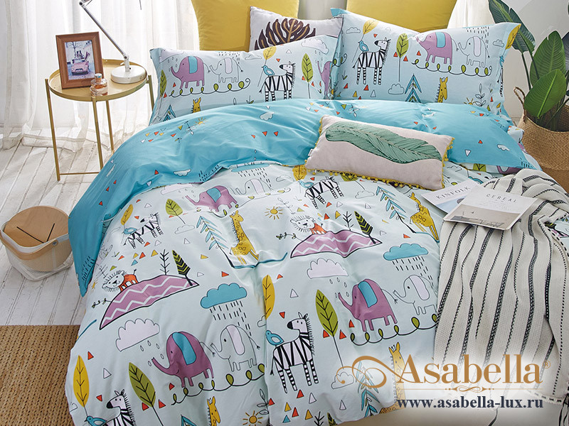Комплект постельного белья Asabella 1291-4XS (размер 1,5-спальный)