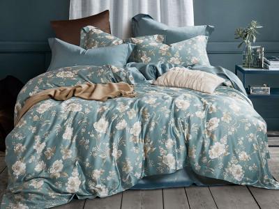 Комплект постельного белья Asabella 1301/160 на резинке (размер евро)