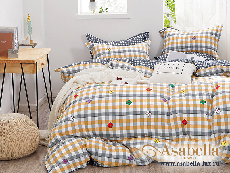 Комплект постельного белья Asabella 1325-4S (размер 1,5-спальный)