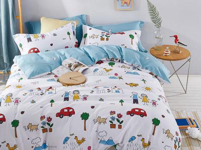Комплект постельного белья Asabella 1330-4XS (размер 1,5-спальный)