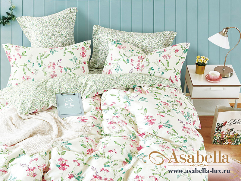 Комплект постельного белья Asabella 1338 (размер евро)