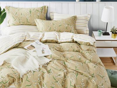 Комплект постельного белья Asabella 1339/160 на резинке (размер евро)