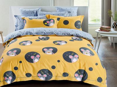Комплект постельного белья Asabella 1345-4S (размер 1,5-спальный)