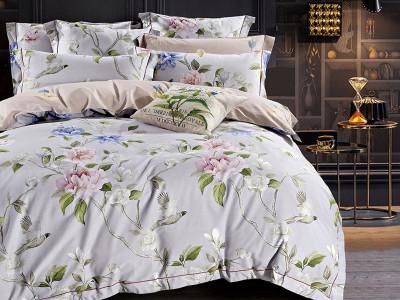 Комплект постельного белья Asabella 1349/160 на резинке (размер евро)