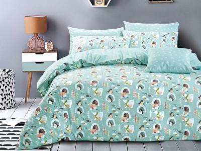 Комплект постельного белья Asabella 1356 (размер евро)