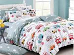 Комплект постельного белья Asabella 1357-4S (размер 1,5-спальный)