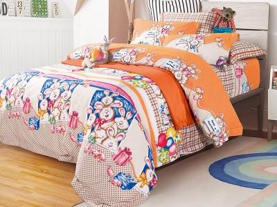Комплект постельного белья Asabella 136-4S (размер 1,5-спальный)