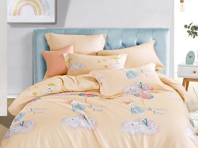 Комплект постельного белья Asabella 1419-4XS (размер 1,5-спальный)
