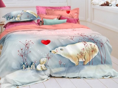 Комплект постельного белья Asabella 143 (размер евро)