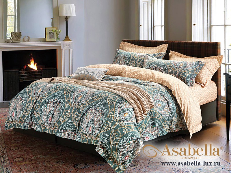 Комплект постельного белья Asabella 145 (размер евро)