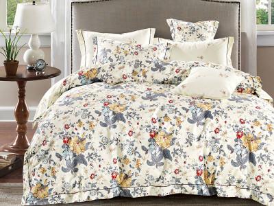 Комплект постельного белья Asabella 1484/180 на резинке (размер евро)