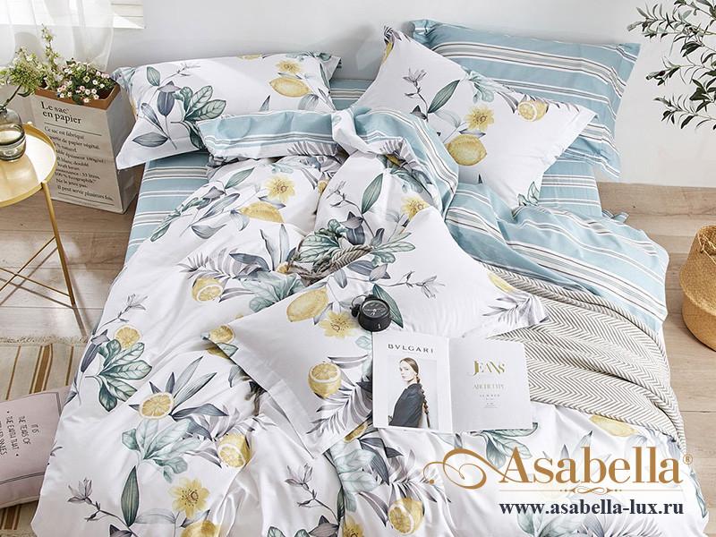 Комплект постельного белья Asabella 1492/180 на резинке (размер евро)