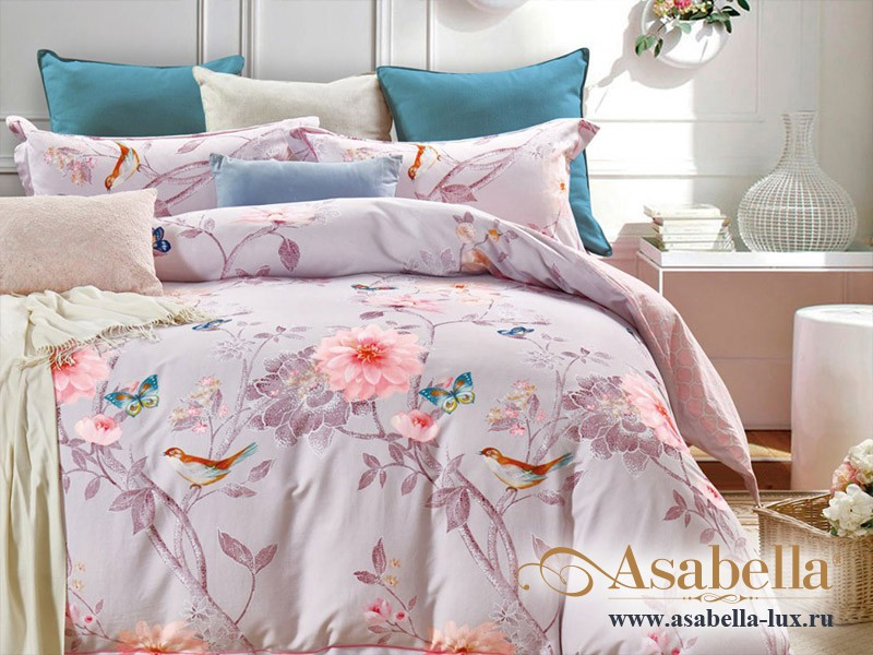 Комплект постельного белья Asabella 152 (размер евро)
