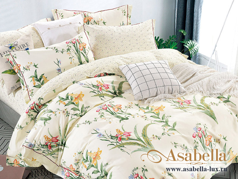 Комплект постельного белья Asabella 1549 (размер евро)