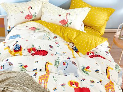 Комплект постельного белья Asabella 1558-4XS (размер 1,5-спальный)
