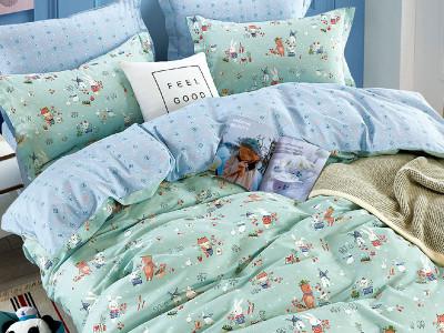 Комплект постельного белья Asabella 1561-4XS (размер 1,5-спальный)