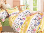 Комплект постельного белья Asabella 1572-4XS (размер 1,5-спальный)