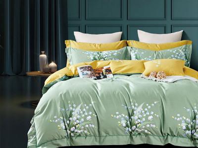 Комплект постельного белья Asabella 1600 (размер евро)