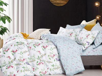 Комплект постельного белья Asabella 1617/160 на резинке (размер евро)