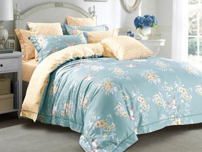 Комплект постельного белья Asabella 170/160 на резинке (размер евро)