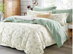 Комплект постельного белья Asabella 175/160 на резинке (размер евро)